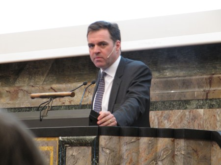 Prof. Dr. Niall Ferguson at the University of Zurich